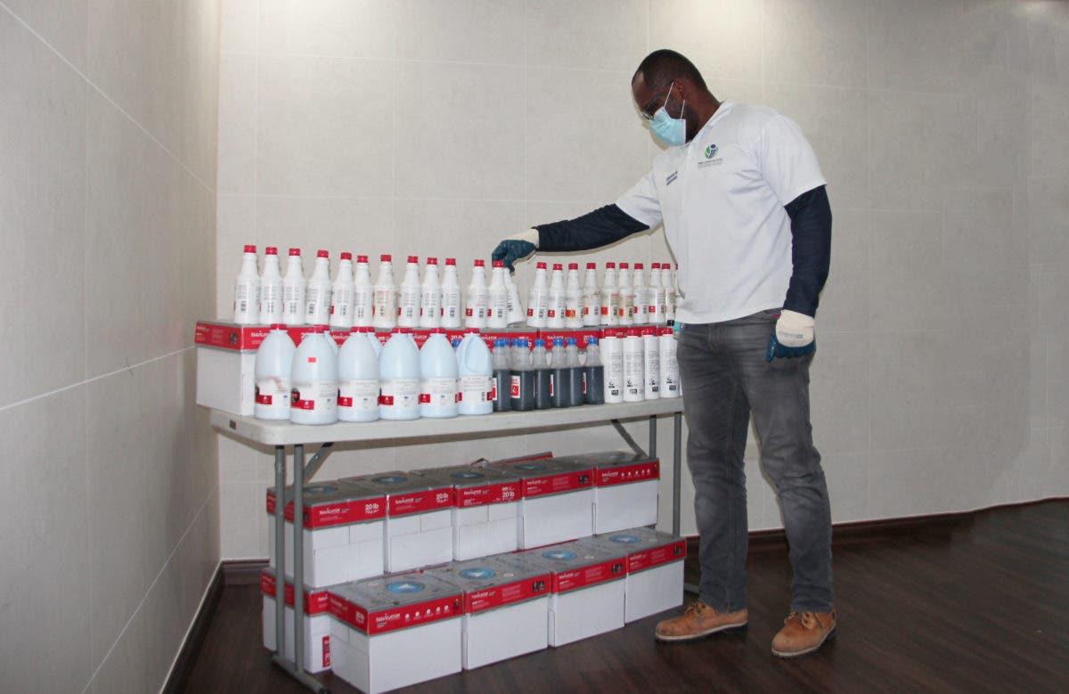 """Pro Consumidor continúa confiscando cientos de productos utilizados para fabricar """"ácido del diablo"""""""