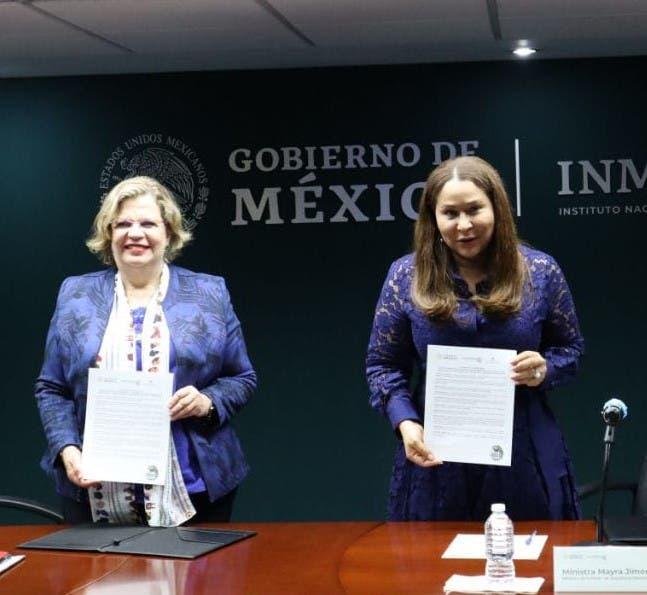 Ministerio de la Mujer firma en México acuerdo