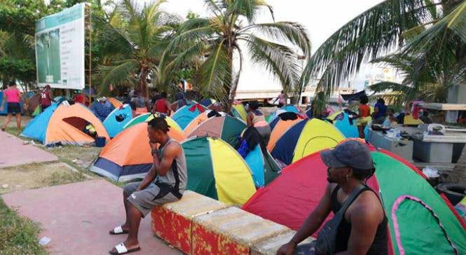 Haitianos en camino a Norteamérica: En Colombia nos están chupando la sangre