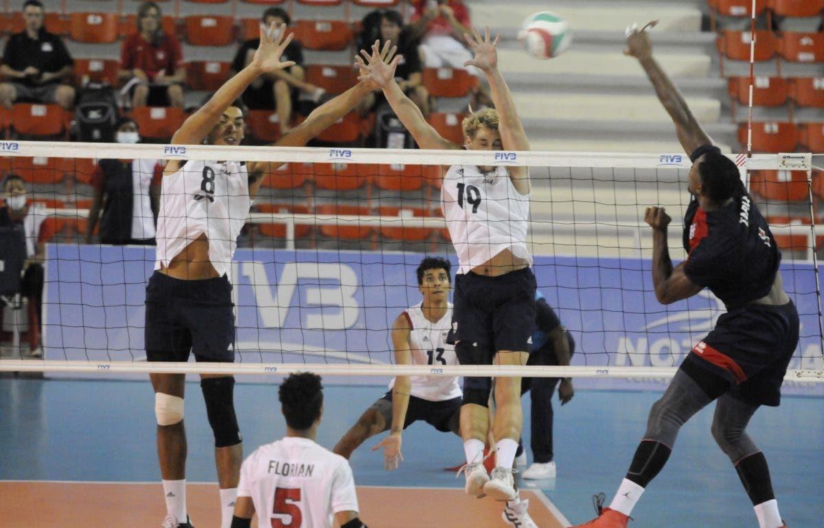 Dominicana vence 3-2 a Estados Unidos en voleibol y sigue inmaculado con 3-0