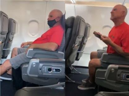 Hombre provocó alboroto en avión en EEUU deberá responder ante un juez