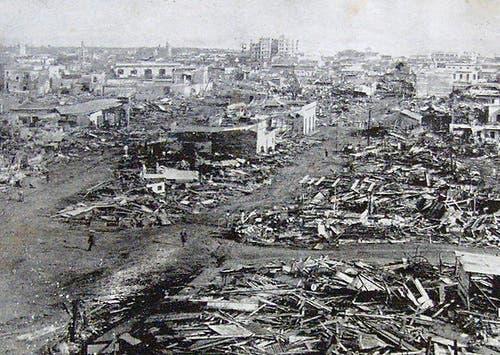 A 91 años de San Zenón, el huracán que devastó a la ciudad de Santo Domingo