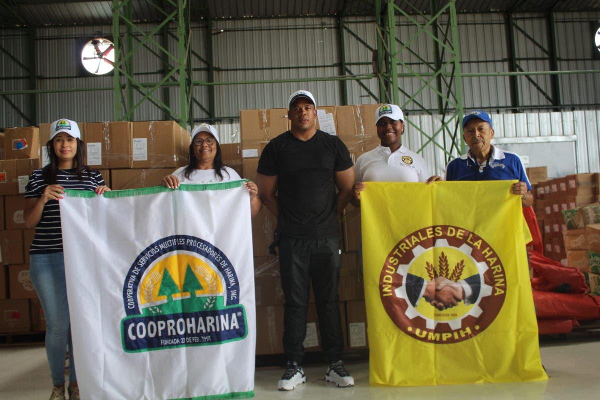 Umpih y Cooproharina se solidarizan con Haití y donan panes y medicamentos