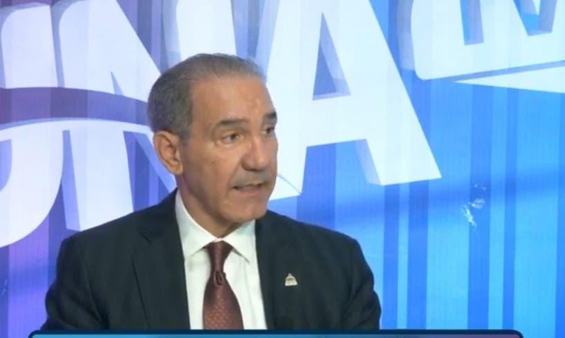 Ministro Franklin García Fermín dice COVID afectó el 38% de la matrícula universitaria