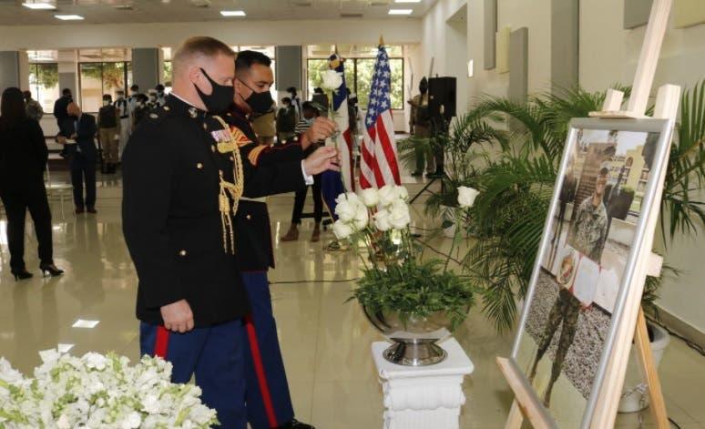 Rinden honor a sargento Johanny Rosario, fallecida en ataque del aeropuerto Kabul