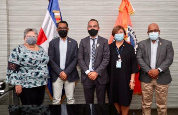 Defensa Civil y PNUD unirán esfuerzos a favor de la gestión de riesgos en el país
