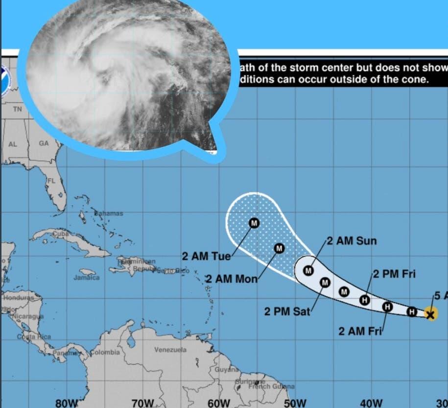 Lo más reciente sobre el huracán Larry