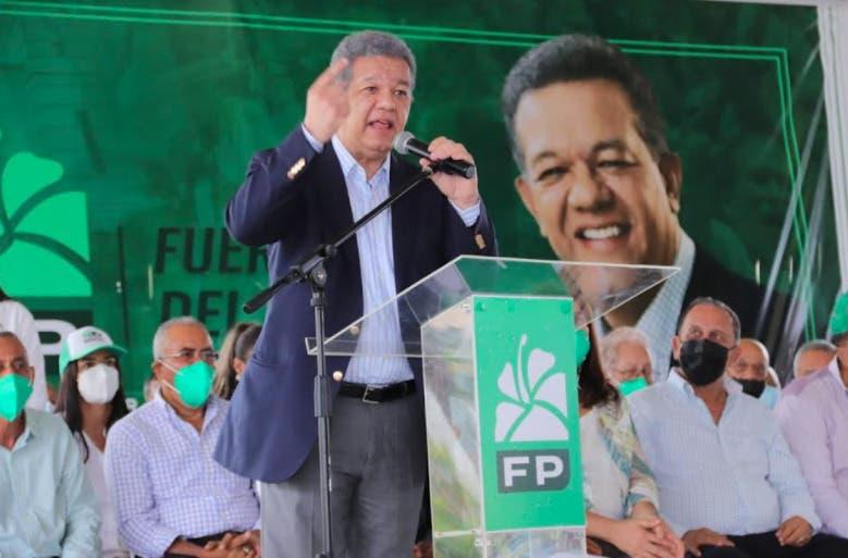 Leonel Fernández: «Estoy sintiendo la angustia y la desesperación del pueblo»