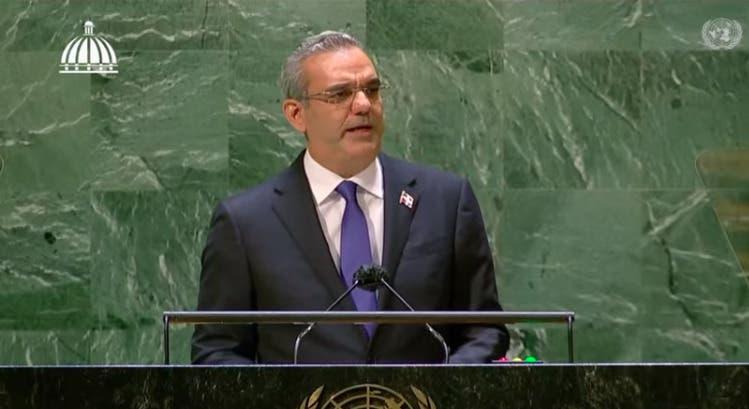 Luis Abinader en ONU: «No hay ni habrá jamás una solución dominicana a crisis Haití»
