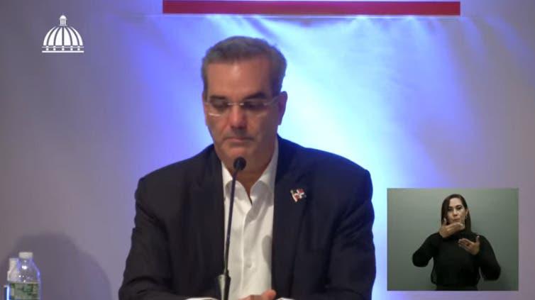 EN VIVO: Luis Abinader habla al país desde Nueva York tras consejo de ministros