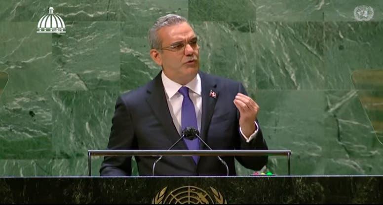 Abinader alerta en ONU sobre efecto en RD de cambio climático y pide transformación económica