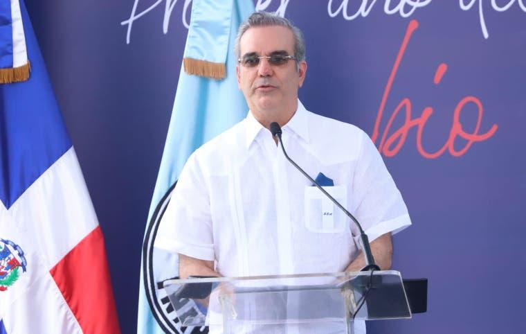 Luis Abinader: «Aquí no hay robo en este gobierno y donde lo hay, nosotros lo paramos»