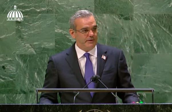 EN VIVO: Discurso de Luis Abinader ante miembros Asamblea de la ONU