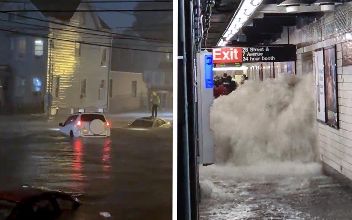 Al menos 8 muertos en Nueva York y Nueva Jersey por las fuertes lluvias