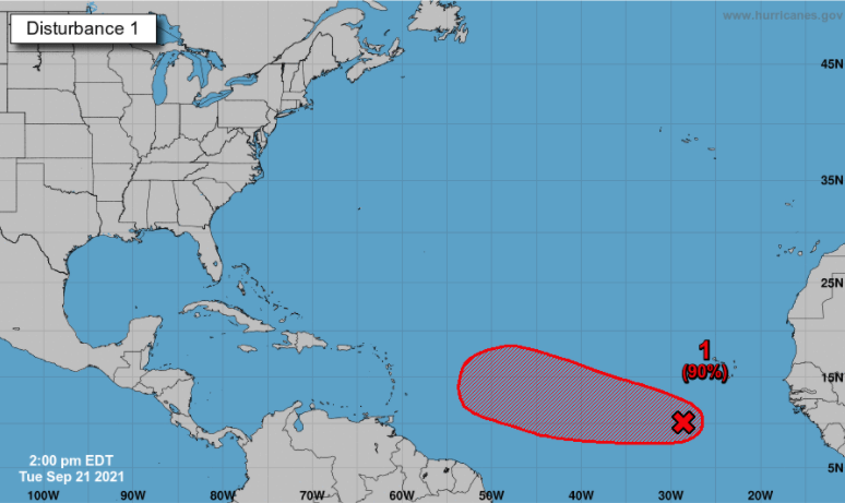 Autoridades RD siguen onda tropical con potencial de 90% para convertirse en ciclón
