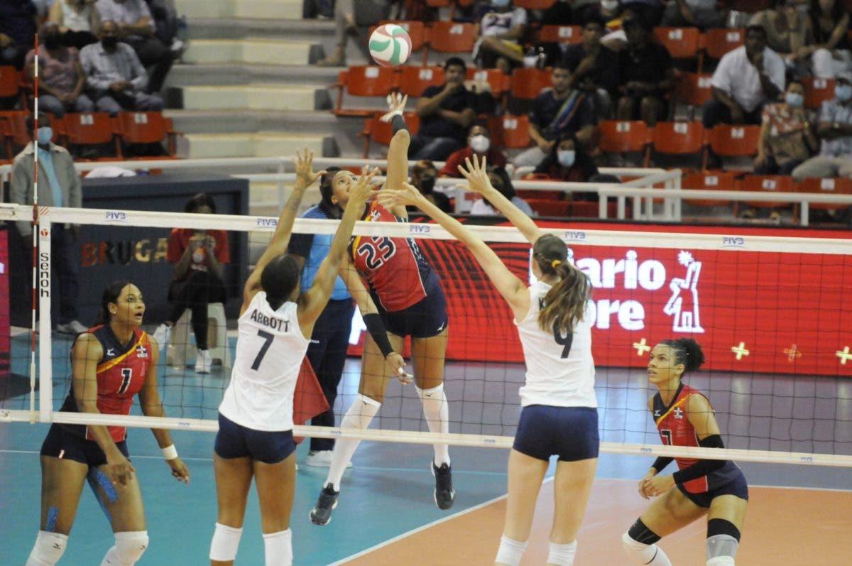 RD vence 3-0 a USA; va este sábado en semifinal contra Canadá