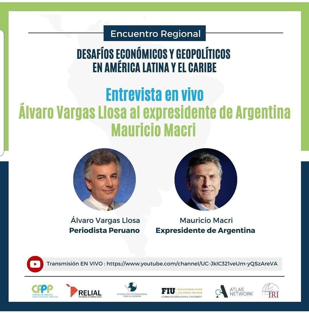 Expresidente argentino participará en evento dominicano sobre economía