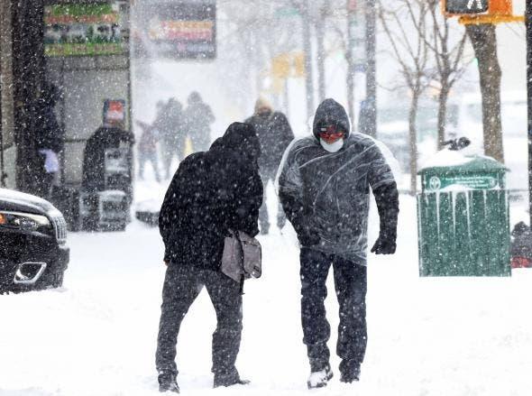 Pronostican fuerte invierno área EUA reside 1.5 millón de dominicanos