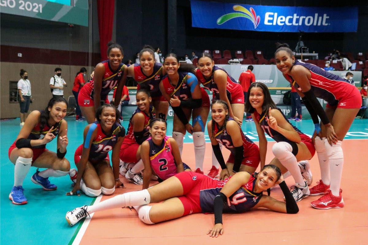 Voleibol RD vence 3-1 a Puerto Rico; criollas van por puesto del 9-12 en Mundial