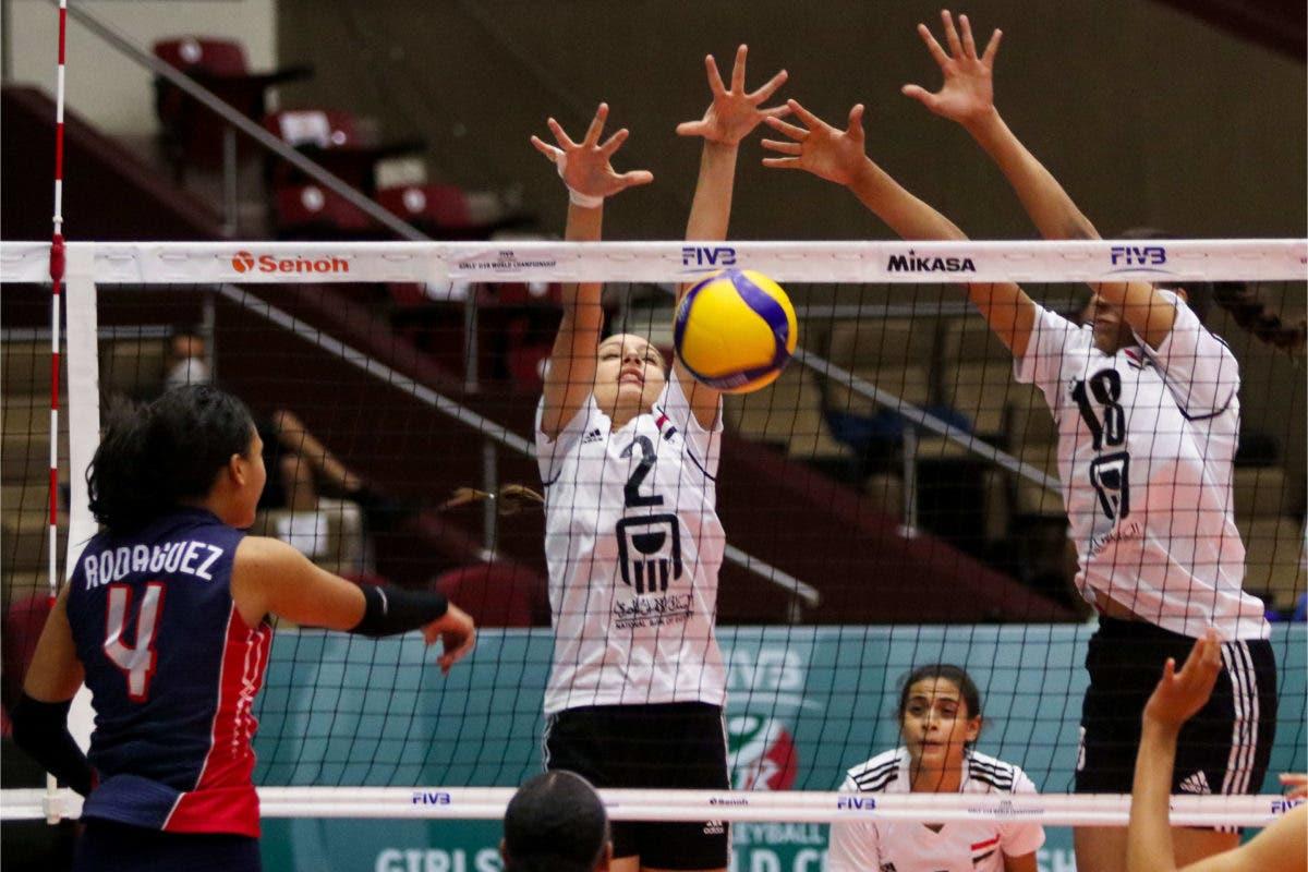 Voleibol RD derrota 3-1 a Egipto en Mundial U-18 y avanza a 8vos finales