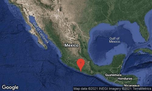 Terremoto de magnitud de 6.9 grados sacude México