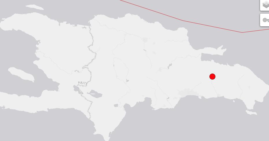 Temblor de tierra fue de magnitud 4.5; se tiene en Santo Domingo