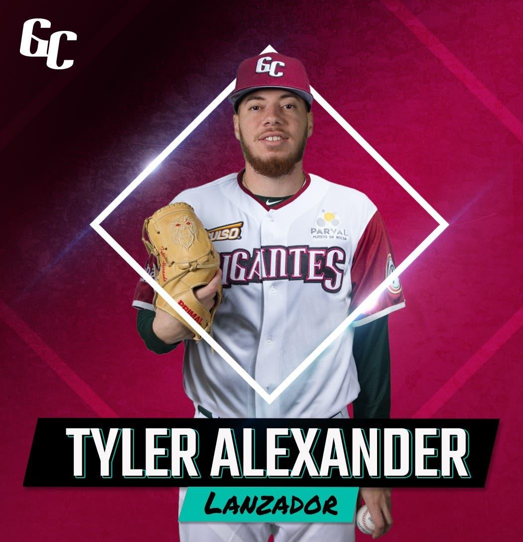 Gigantes del Cibao anuncian al importado Tyler Alexander