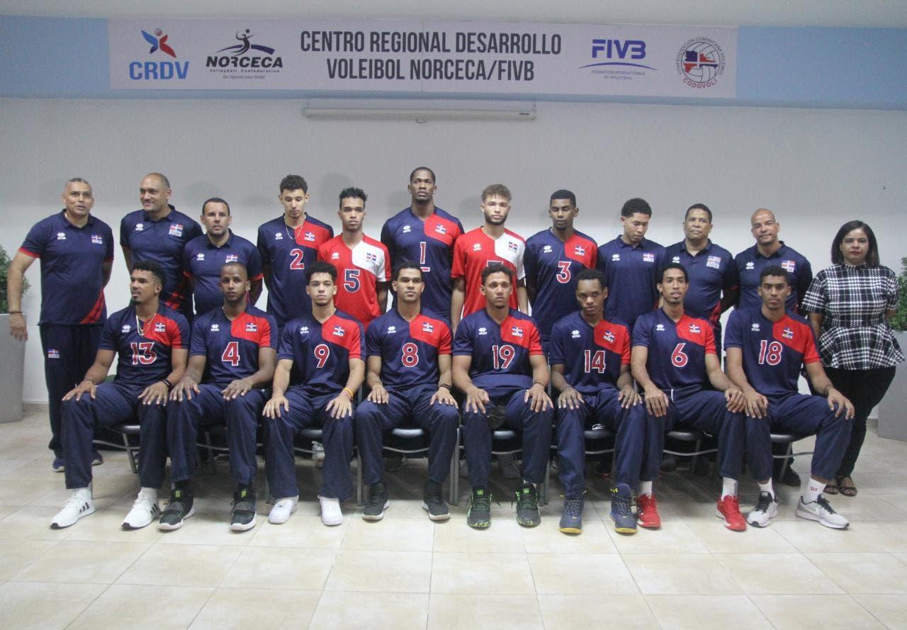 Voleibol RD debuta ante Puerto Rico este viernes en inicio Copa Panamericana con 6 países