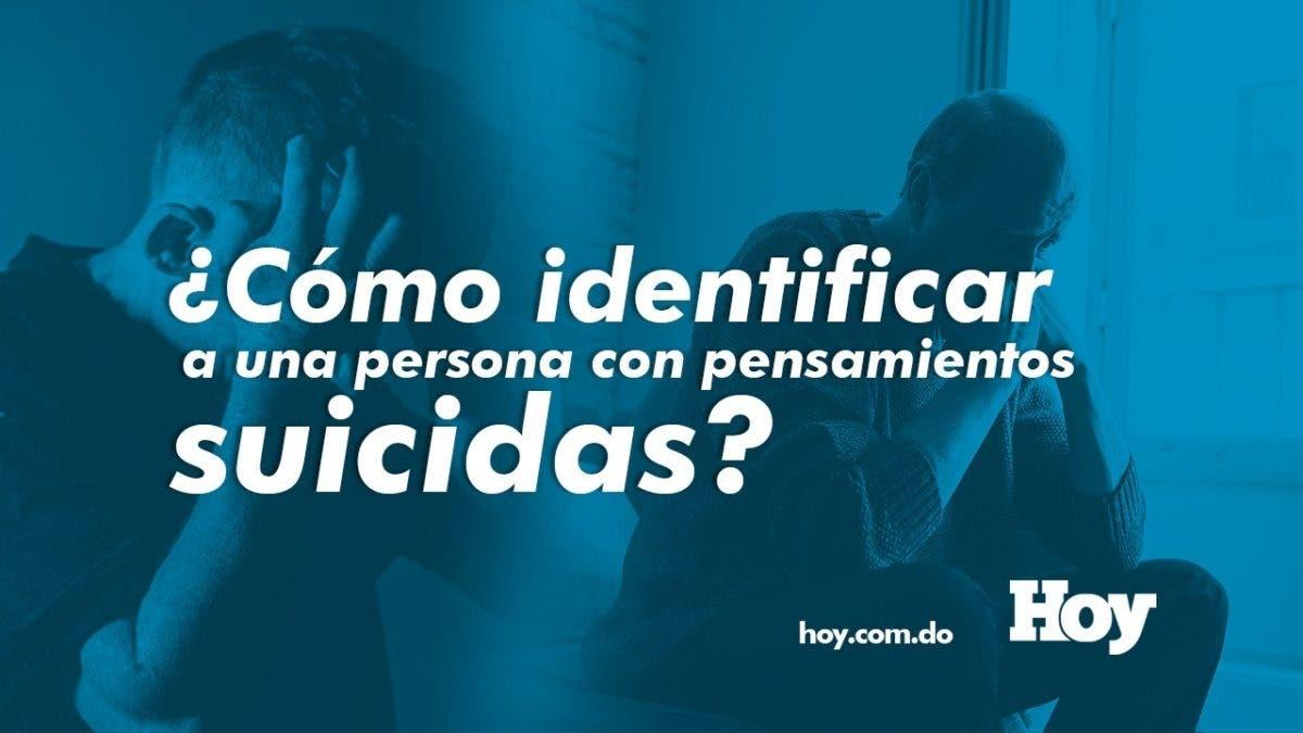 ¿Cómo identificar a una persona con pensamientos suicidas y cómo ayudarla?