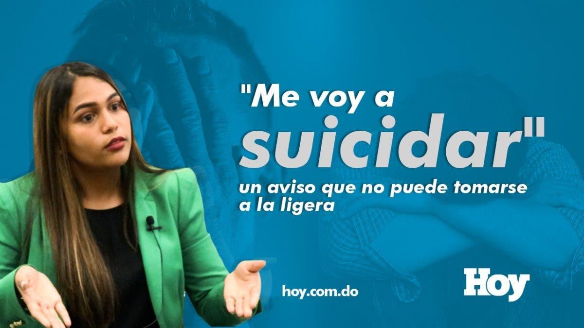 «Me voy a suicidar»: un aviso que no puede tomarse a la ligera