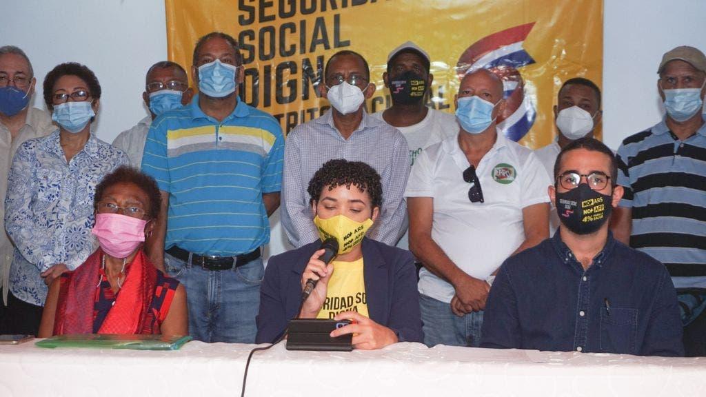 """Coalición por la Seguridad Social Digna reitera llamado a participar en """"Parada en las 100 Esquinas"""""""