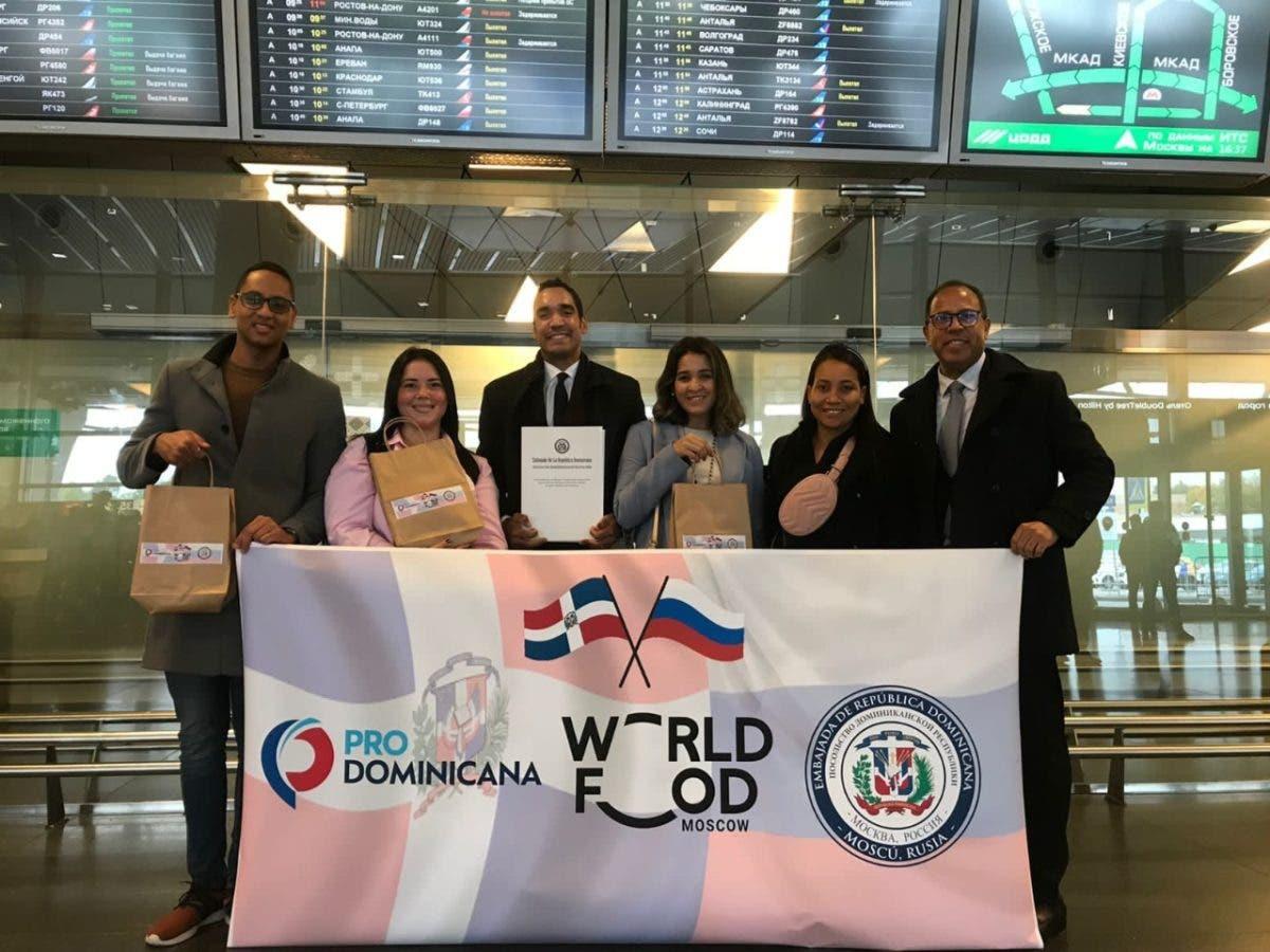 República Dominicana participa en Feria Mundial Alimentaria Moscú 2021