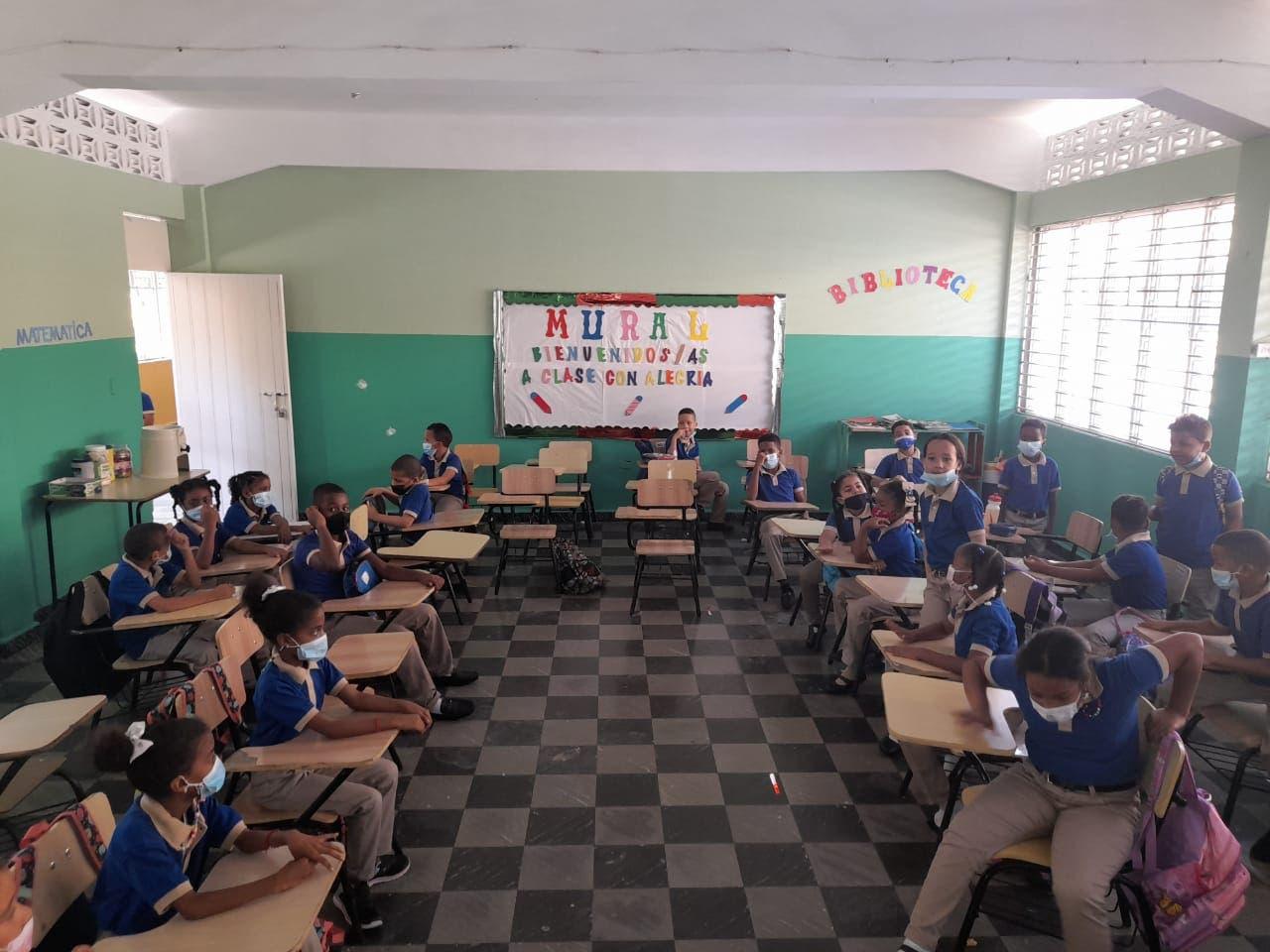 Fotos y videos: Así inició el año escolar en algunas escuelas