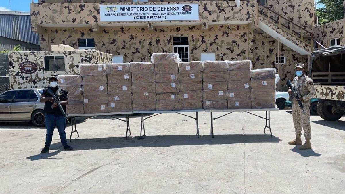 Decomisan 460 mil unidades de cigarrillos en Dajabón