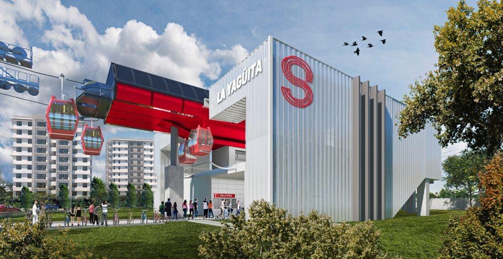 Gobierno lanza el SITS y construcción de  teleférico en Santiago