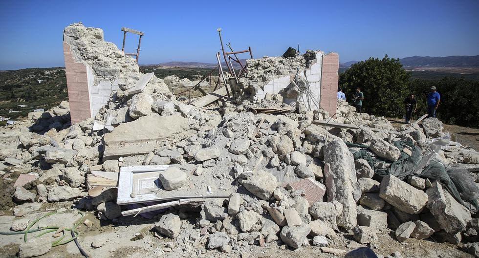 Un muerto tras fuerte sismo al sur de Grecia