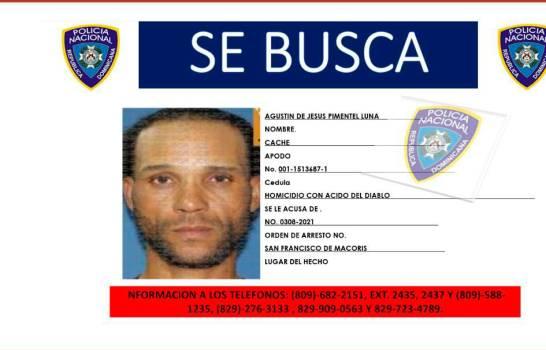 Identifican presunto autor de rociar ácido del diablo a Yanelis Arias