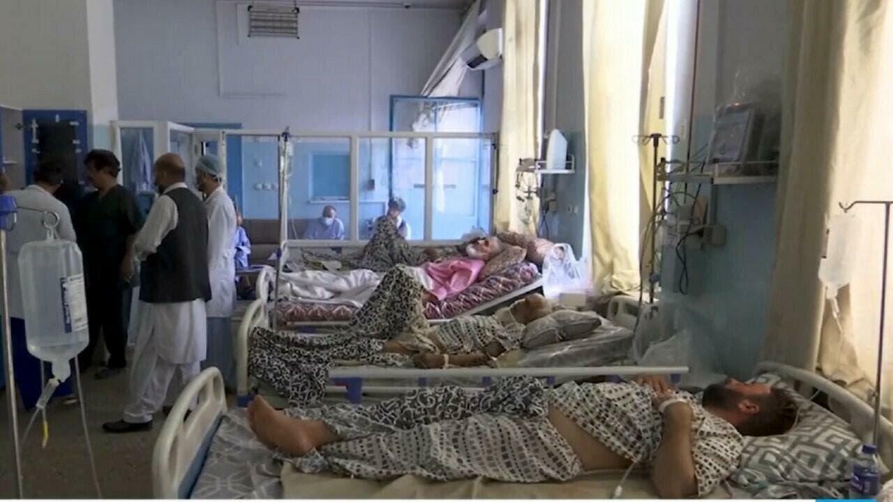 Cruz Roja advierte que Afganistán está al borde del colapso sanitario