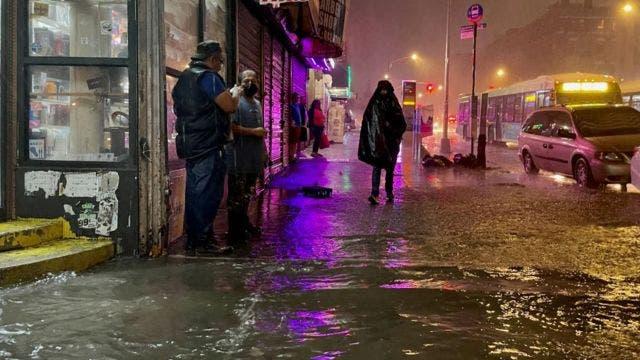 VIDEOS- Nueva York bajo agua