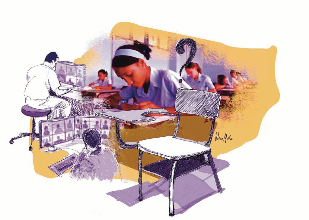 Ciclo virtual desnudó antiguas falencias de sistema educativo
