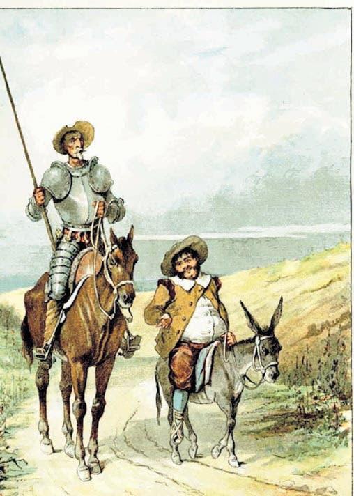 Novela ¿Ser como el Quijote? (II)