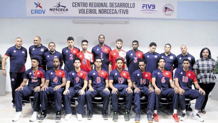 Voleibol RD debuta hoy ante Puerto Rico en inicio de Copa