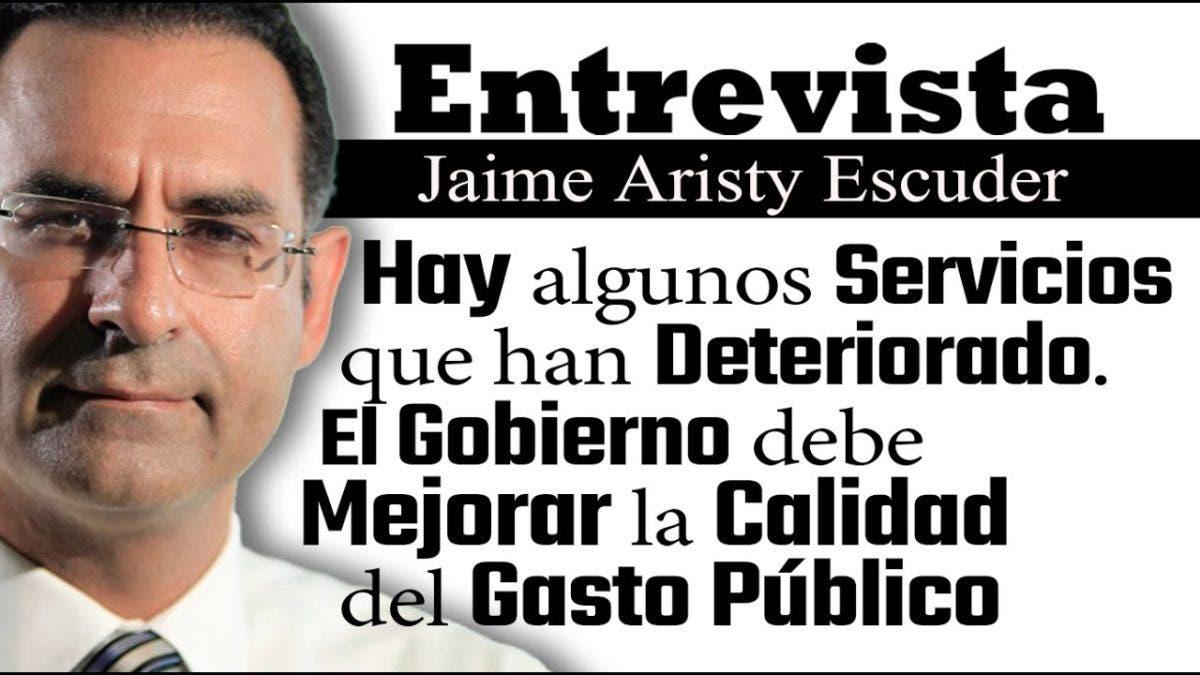 Entrevista a Jaime Aristy Escuder, jueves 30 de septiembre, programa Telematutino 11