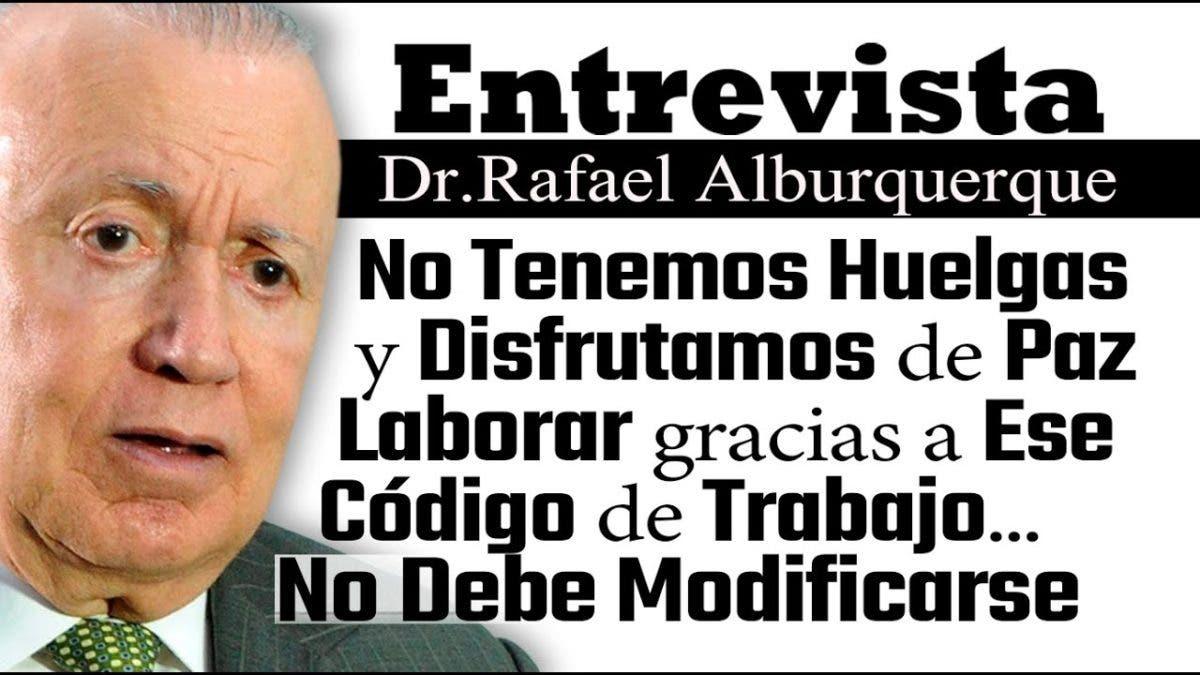 Entrevista a Rafael Alburquerque, miércoles 29 septiembre, programa Telematutino 11
