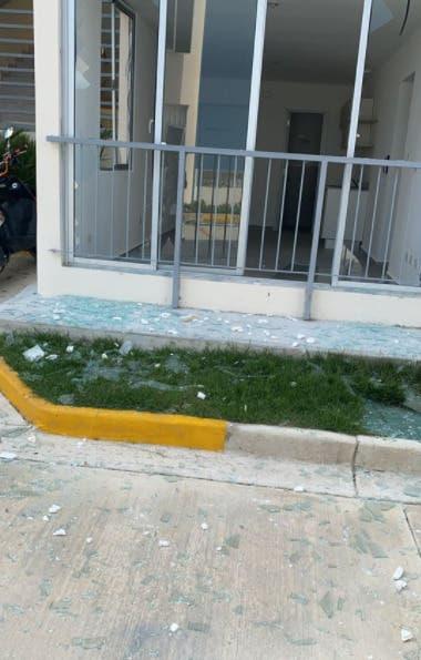 Vídeo y fotos de explosión en Verón-Punta Cana