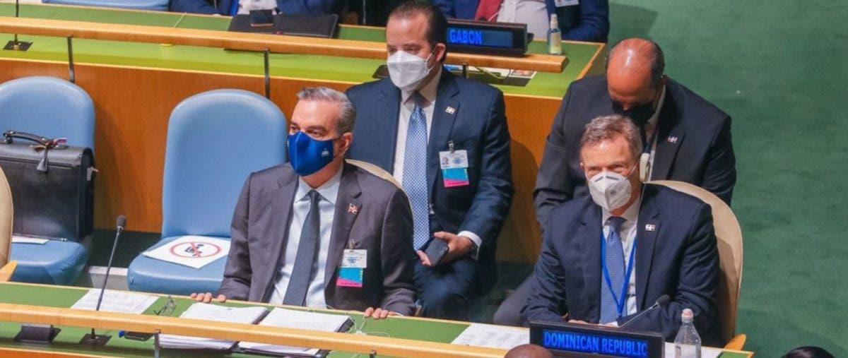Presidente Abinader asiste a apertura de debate del 76º período de sesiones de la ONU