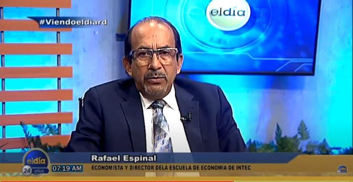 Entrevista a Rafael Espinal, martes 12 de octubre, programa El Día