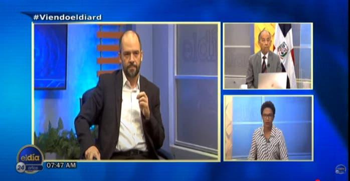 Entrevista a Matías Bosch, lunes 4 de octubre, programa El Día