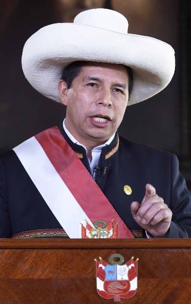 Congreso Perú busca destitución Castillo