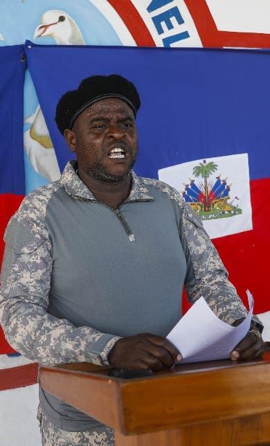 Líder de mayor banda de Haití con el combustible